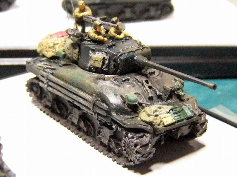 M4A1 シャーマン スクリーンイメージバージョンレジン(マツオカステン1/144 オリジナルレジンキャストキット (AFV)No.MTUAFV-080)商品画像_1