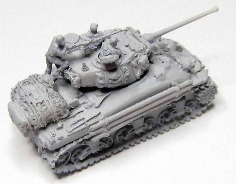 M4A1 シャーマン スクリーンイメージバージョンレジン(マツオカステン1/144 オリジナルレジンキャストキット (AFV)No.MTUAFV-080)商品画像_2
