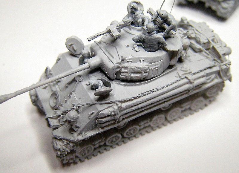 M4A1 シャーマン スクリーンイメージバージョンレジン(マツオカステン1/144 オリジナルレジンキャストキット (AFV)No.MTUAFV-080)商品画像_3