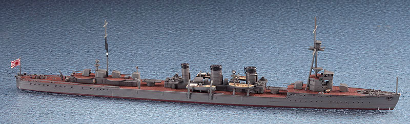 日本軽巡洋艦 天龍プラモデル(ハセガワ1/700 ウォーターラインシリーズNo.357)商品画像_1