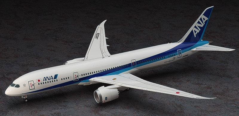 ANA ボーイング 787-9プラモデル(ハセガワ1/200 飛行機シリーズNo.021)商品画像_3