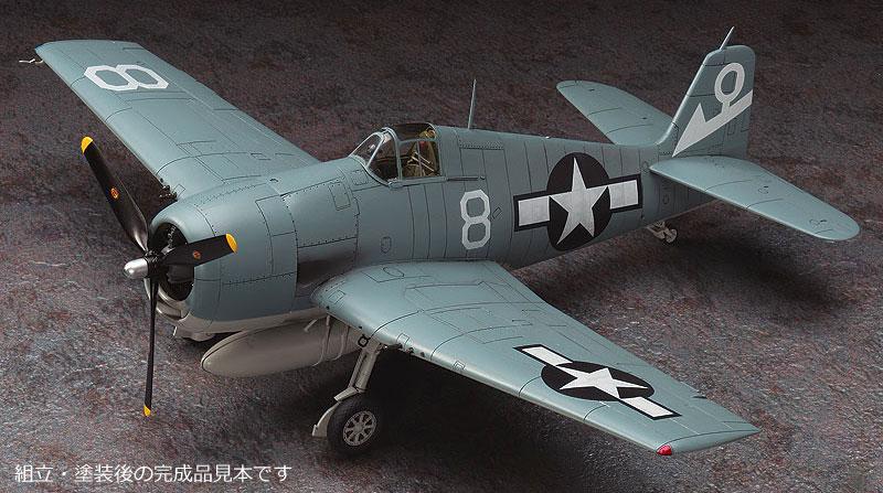 復讐を埋めた山 F6F-5 ヘルキャットプラモデル(ハセガワクリエイター ワークス シリーズNo.64715)商品画像_2