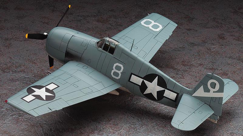 復讐を埋めた山 F6F-5 ヘルキャットプラモデル(ハセガワクリエイター ワークス シリーズNo.64715)商品画像_3