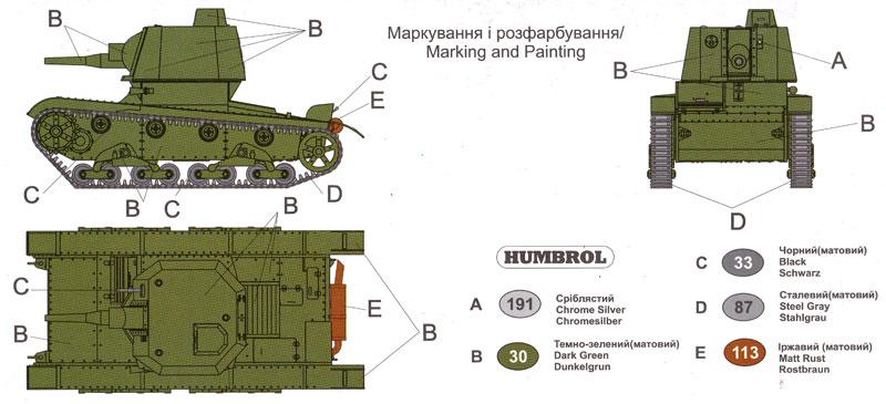 ロシア A-39 自走榴弾砲 (T-26ベース)プラモデル(ユニモデル1/72 AFVキットNo.72660)商品画像_1