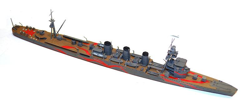 霧の艦隊 軽巡洋艦 ユラプラモデル(アオシマ蒼き鋼のアルペジオNo.012)商品画像_3