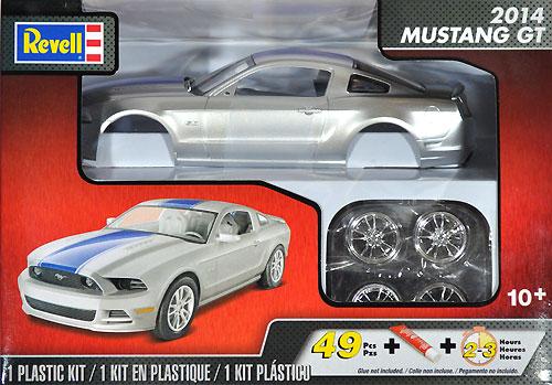 2014 マスタング GTプラモデル(レベルカーモデルNo.85-4309)商品画像
