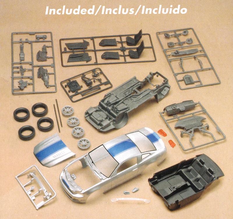 2014 マスタング GTプラモデル(レベルカーモデルNo.85-4309)商品画像_1