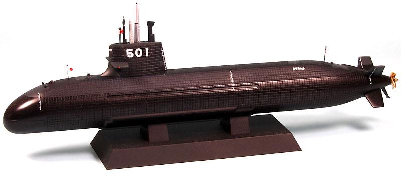 海上自衛隊 潜水艦 SS-501 そうりゅう型完成品(ピットロード1/350 塗装済み完成品 (JBM)No.JBM-005)商品画像_1