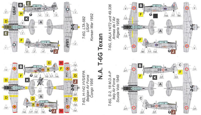T-6G テキサン 練習機プラモデル(バロムモデル1/144 エアクラフトNo.14409)商品画像_1