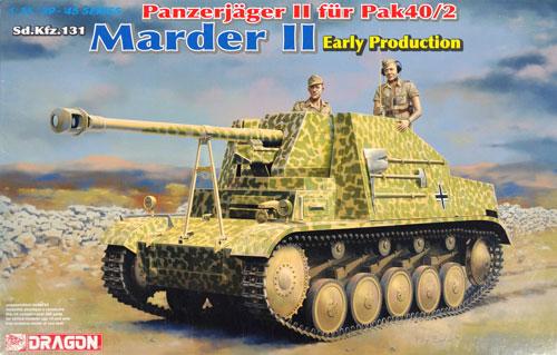 ドイツ 2号対戦車自走砲 マーダー 2 7.5cm PaK40/2搭載 初期生産型プラモデル(ドラゴン1/35