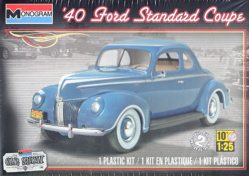 40 フォード スタンダード クーペプラモデル(レベルカーモデルNo.85-4371)商品画像