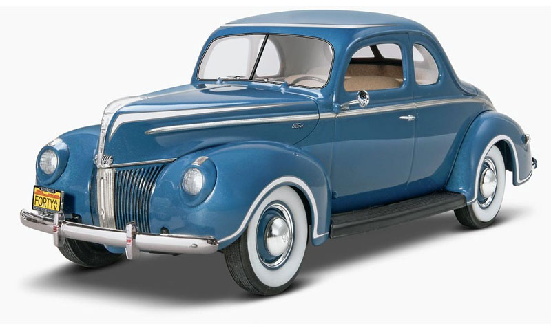 40 フォード スタンダード クーペプラモデル(レベルカーモデルNo.85-4371)商品画像_3