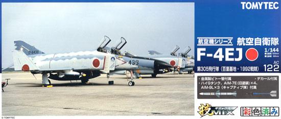 航空自衛隊 F-4EJ ファントム 2 第305飛行隊 (百里基地・1992戦競)プラモデル(トミーテック技MIXNo.AC122)商品画像