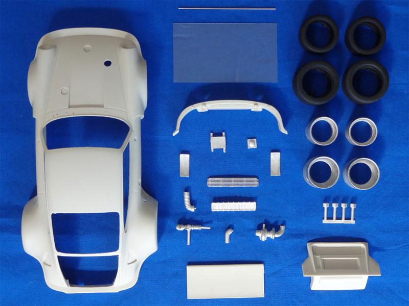 ポルシェ 935 K1 シルバーストーン 1976トランスキット(スタジオ27ツーリングカー/GTカー トランスキットNo.TK2467)商品画像_2