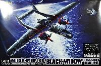 グレートウォールホビー1/48 ミリタリーエアクラフト プラモデルP-61B ブラックウィドウ ラストショットダウン 1945 (エッチングパーツ付)
