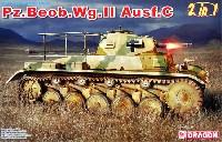 ドラゴン1/35 '39-'45 Seriesドイツ Pz.Beob.Wg.2 Ausf.A-C 2号戦車 砲兵観測車タイプ