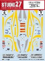 スタジオ27ツーリングカー/GTカー オリジナルデカールマクラーレン MP4-12C GT3 K-PAX #9 ロングビーチ 2014