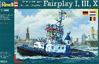 レベル1/144 艦船モデルハーバータグボート フェアプレイ (1、3、10)