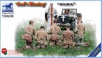 ブロンコモデル1/35 AFVモデル戦場の祈り (アメリカ 従軍牧師 & 兵士)