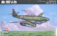 ホビーボス1/48 エアクラフト プラモデルメッサーシュミット Me262A-2a