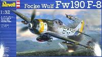 レベル1/32 Aircraftフォッケウルフ Fw190F-8