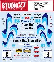 スタジオ27ラリーカー オリジナルデカールトヨタ セリカ ST185 harvilla #8 Barum Rally 1996
