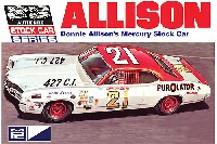 MPC1/25 カーモデル1971 マーキュリー サイクロン ストックカー ドニー・アリソン