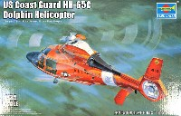 トランペッター1/35 ヘリコプターシリーズアメリカ 沿岸警備隊 HH-65C ドーファン