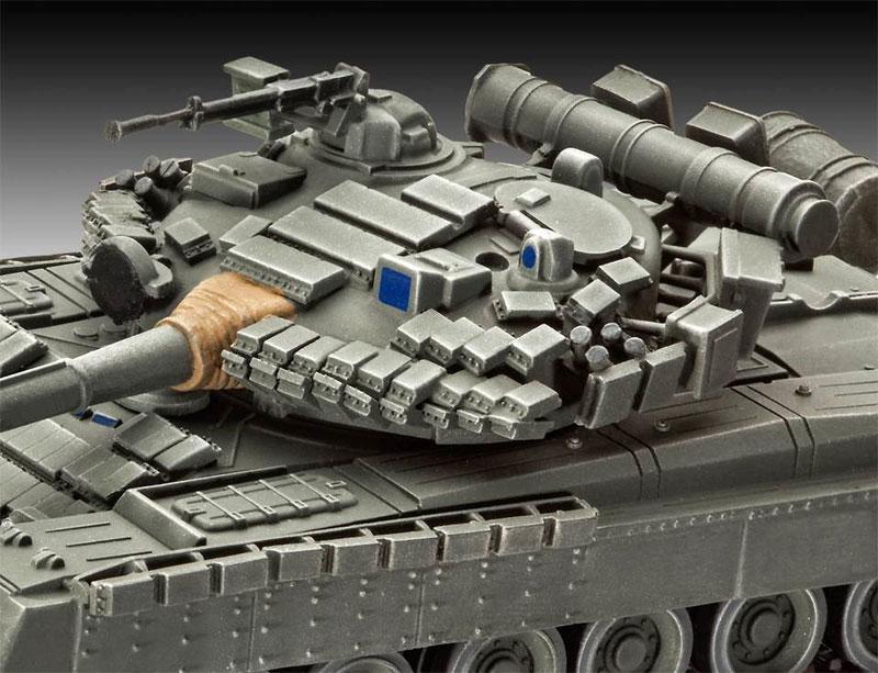 T-80BV 戦車プラモデル(レベル1/72 ミリタリーNo.03106)商品画像_1