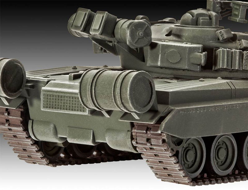 T-80BV 戦車プラモデル(レベル1/72 ミリタリーNo.03106)商品画像_2