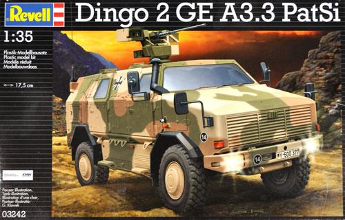 ディンゴ 2 GE A3.3 PatSiプラモデル(レベル1/35 ミリタリーNo.03242)商品画像