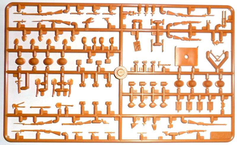 イタリア歩兵 ウェポン & 装備セットプラモデル(ICM1/35 ミリタリービークル・フィギュアNo.35686)商品画像_1