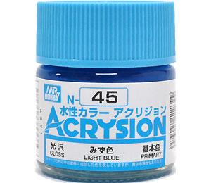 みず色 (N-45)塗料(GSIクレオス水性カラー アクリジョンNo.N-045)商品画像