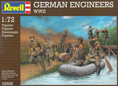 WW2 ドイツ工兵プラモデル(レベル1/72 ミリタリーNo.02508)商品画像