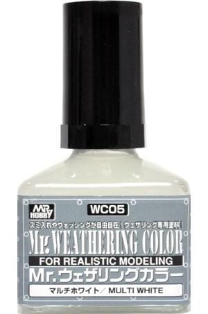 マルチホワイト塗料(GSIクレオスMr.ウェザリングカラーNo.WC005)商品画像