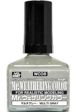 マルチグレー塗料(GSIクレオスMr.ウェザリングカラーNo.WC006)商品画像