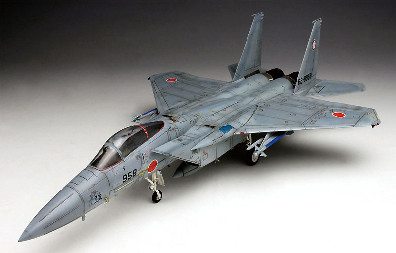 航空自衛隊 主力戦闘機 F-15J イーグルプラモデル(プラッツ航空自衛隊機シリーズNo.AC-016)商品画像_4