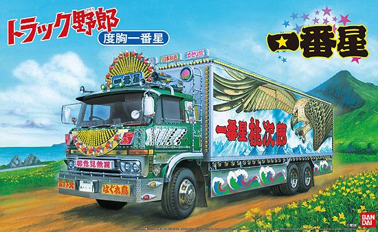 一番星 度胸一番星プラモデル(アオシマ1/32 トラック野郎シリーズNo.007)商品画像