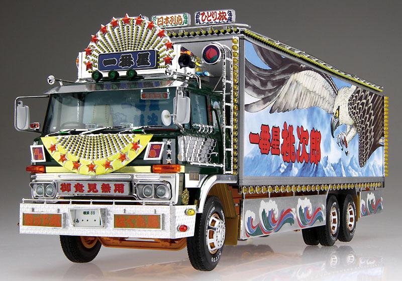 一番星 度胸一番星プラモデル(アオシマ1/32 トラック野郎シリーズNo.007)商品画像_3