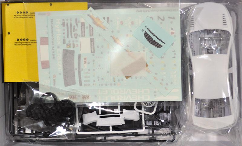 シボレー クルーズ (1.6T) '12 WTCC ワールドチャンピオン仕様プラモデル(BEEMAX1/24 カーモデルNo.005)商品画像_1