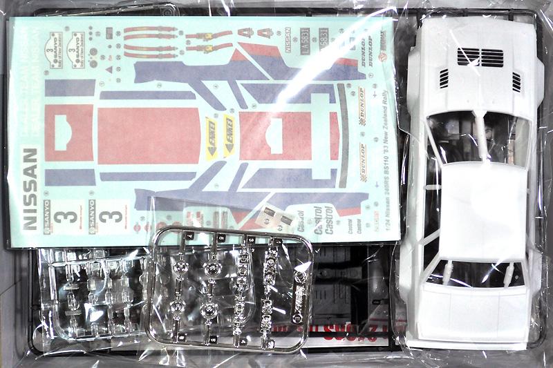 ニッサン 240RS '83 ニュージーランドラリー仕様プラモデル(BEEMAX1/24 カーモデルNo.007)商品画像_1
