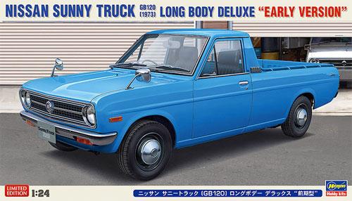 ニッサン サニートラック GB120 ロングボデー デラックス 前期型プラモデル(ハセガワ1/24 自動車 限定生産No.20267)商品画像
