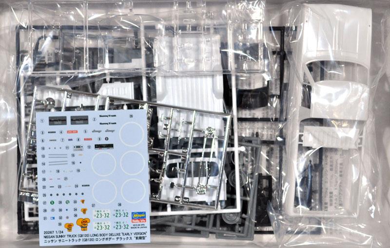 ニッサン サニートラック GB120 ロングボデー デラックス 前期型プラモデル(ハセガワ1/24 自動車 限定生産No.20267)商品画像_1