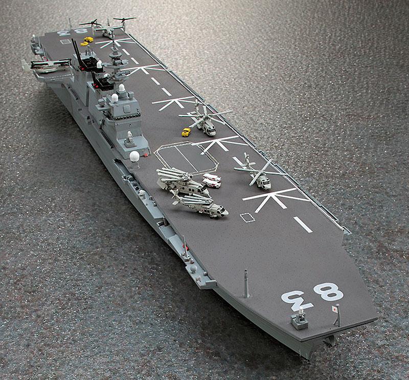 海上自衛隊 ヘリコプター搭載護衛艦 いずもプラモデル(ハセガワ1/700 ウォーターラインシリーズNo.031)商品画像_2