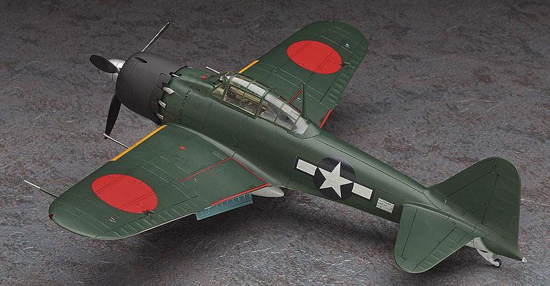 復讐を埋めた山 三菱 A6M5 零式艦上戦闘機 52型プラモデル(ハセガワクリエイター ワークス シリーズNo.64722)商品画像_2