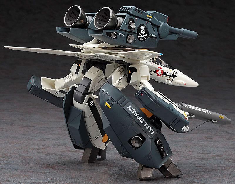 VF-1S/A ストライク/スーパー ガウォーク バルキリープラモデル(ハセガワ1/72 マクロスシリーズNo.026)商品画像_3