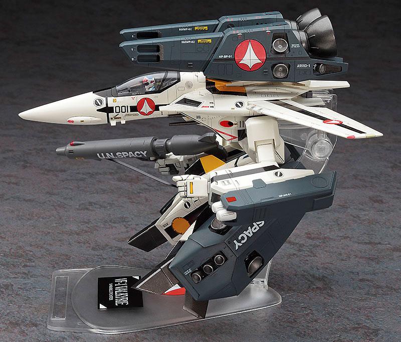 VF-1S/A ストライク/スーパー ガウォーク バルキリープラモデル(ハセガワ1/72 マクロスシリーズNo.026)商品画像_4