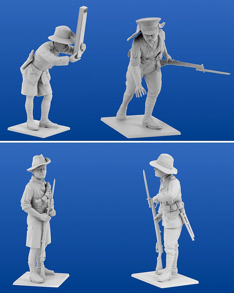 アンザック歩兵 (1915)プラモデル(ICM1/35 ミリタリービークル・フィギュアNo.35685)商品画像_3
