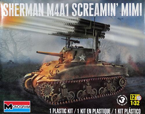 M4A1 シャーマン スクリーミン ミミプラモデル(レベルAFV キットNo.85-7863)商品画像