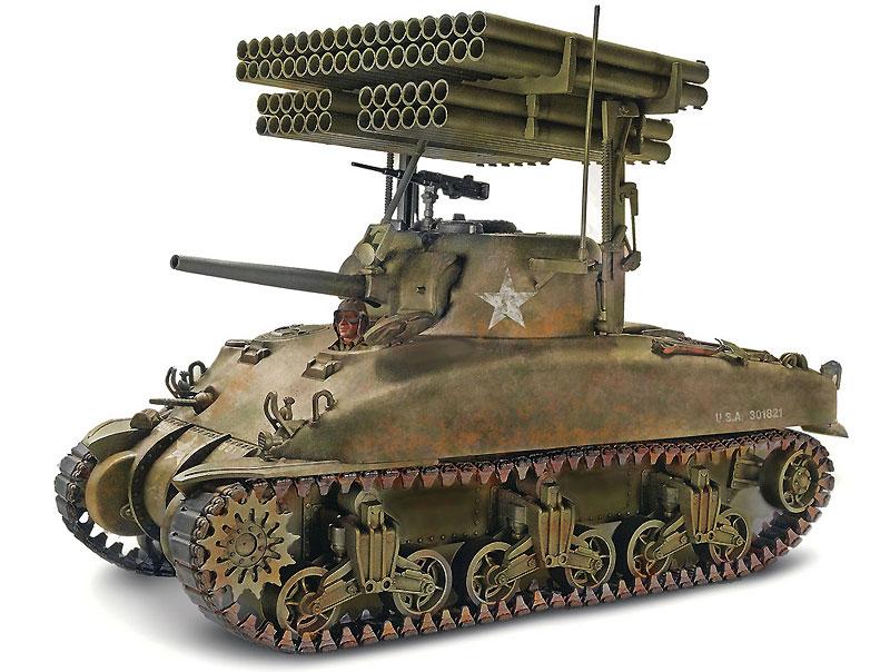M4A1 シャーマン スクリーミン ミミプラモデル(レベルAFV キットNo.85-7863)商品画像_2